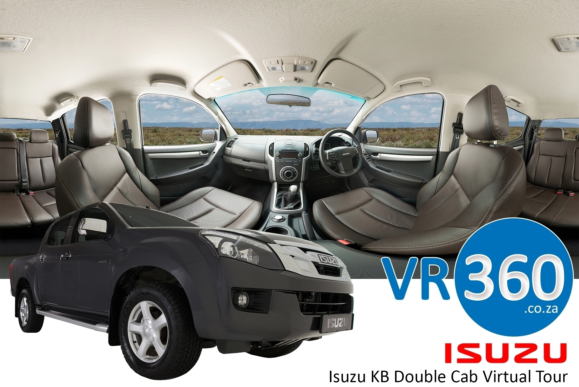isuzu-kb-double-cab-virtual-tour