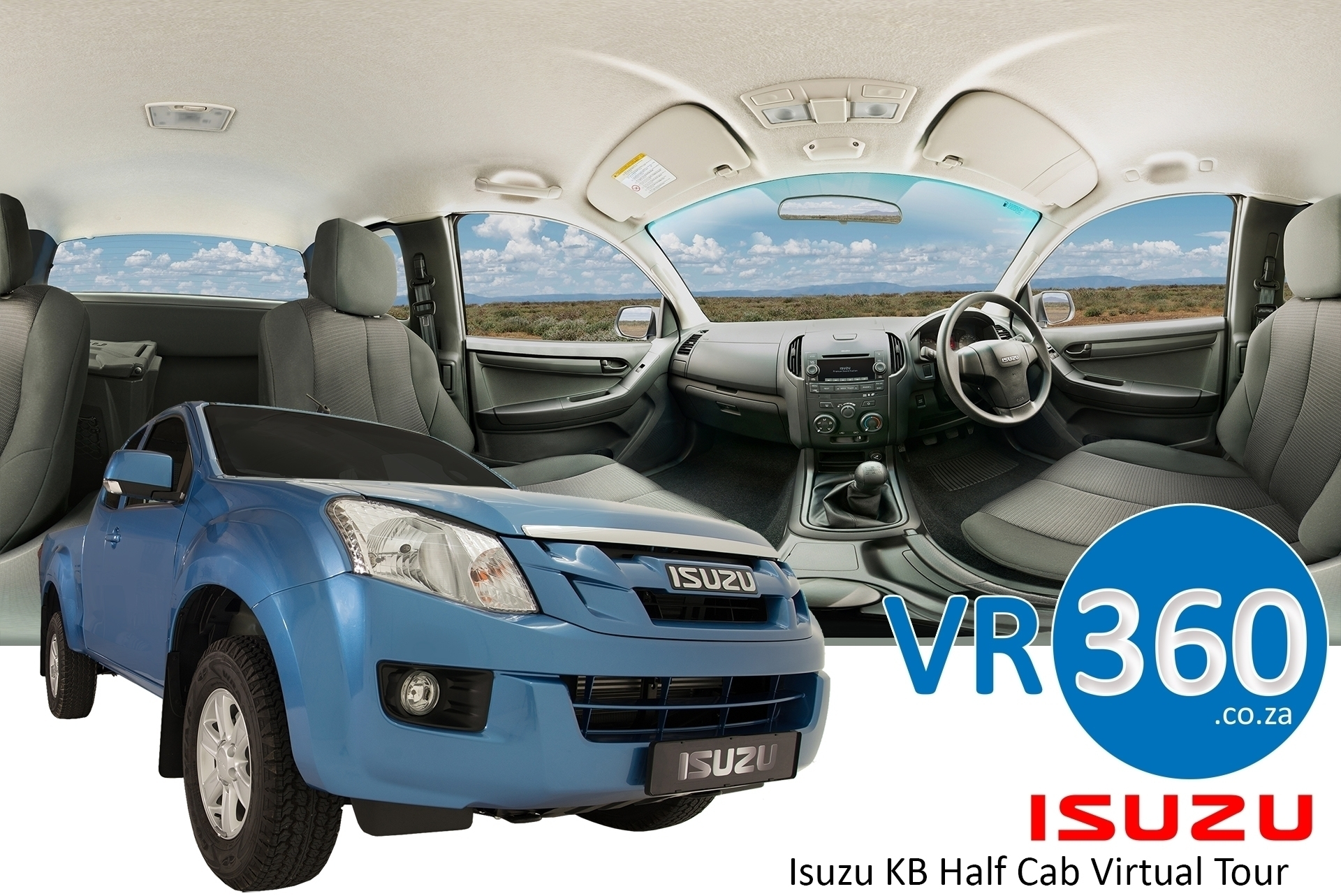 isuzu-kb-half-cab-virtual-tour