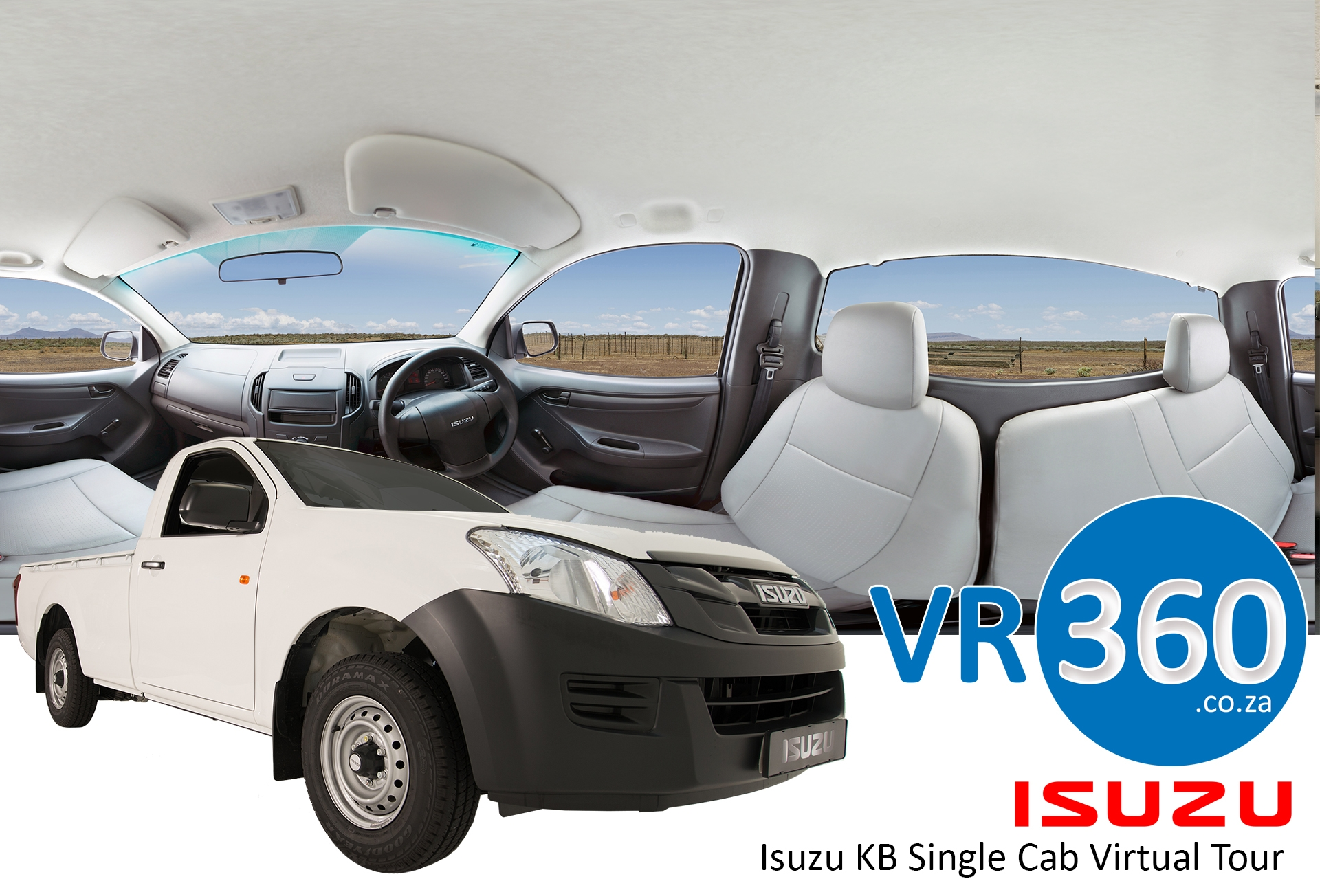 isuzu-kb-single-cab-virtual-tour