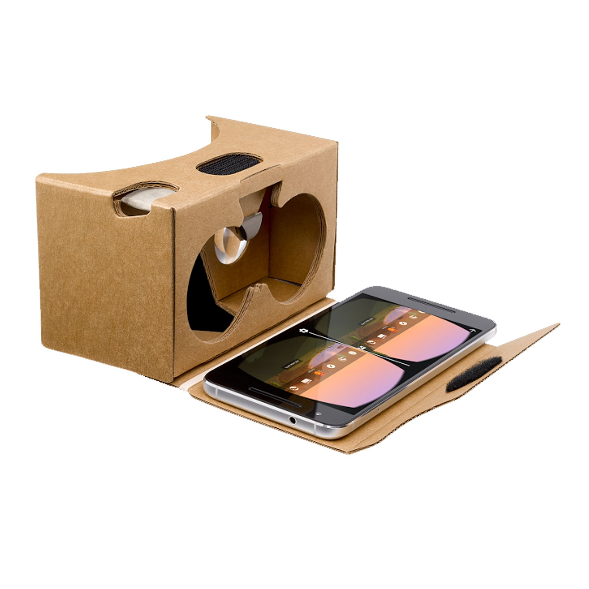 Google cardboard virtual reality headset version 2 virtual google cardboard virtual reality headset version 2 publicscrutiny Image collections